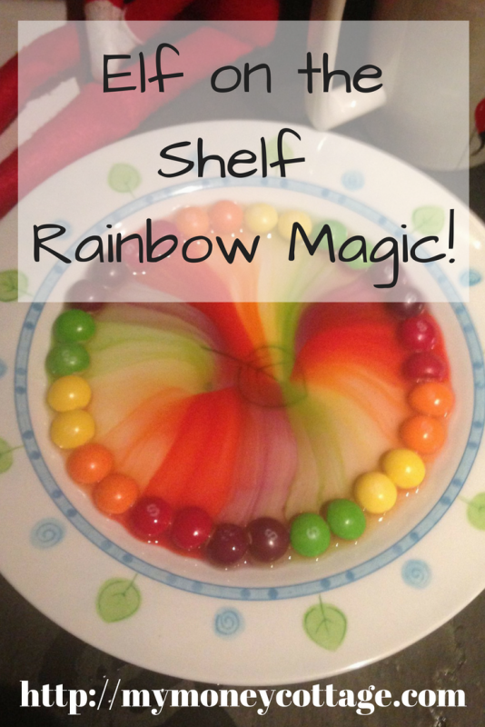 Elf on the Shelf Rainbow Magic!