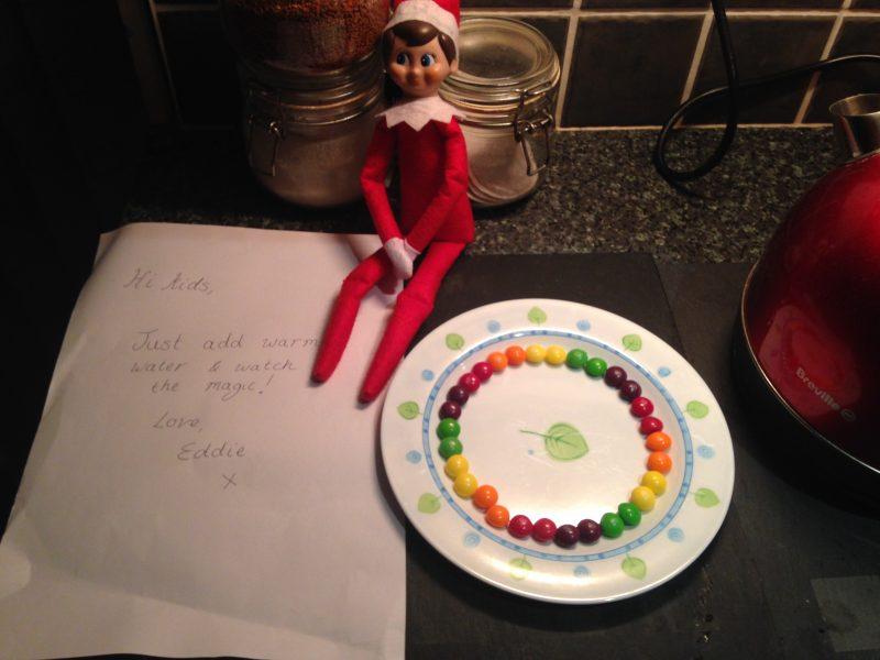 elf on the shelf rainbow magic