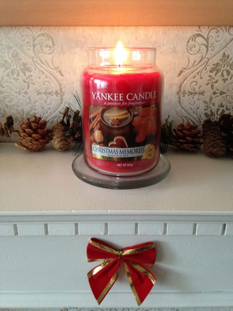 Christmas Memories – A Festive Yankee Candle