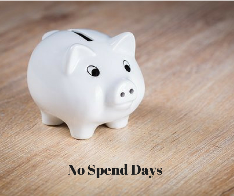 No Spend Days