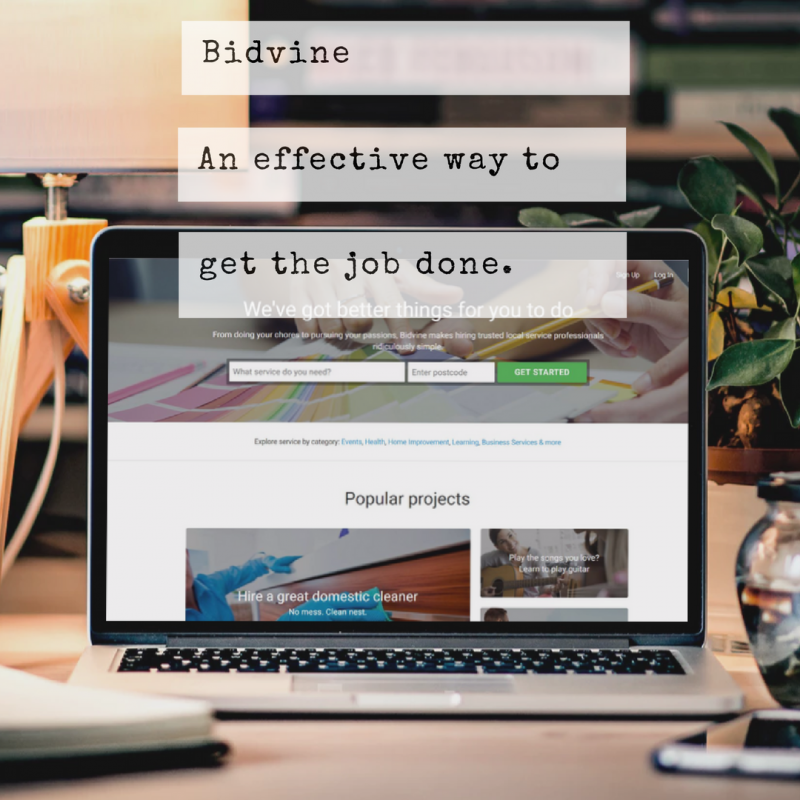 Bidvine: An effective way to get the job done