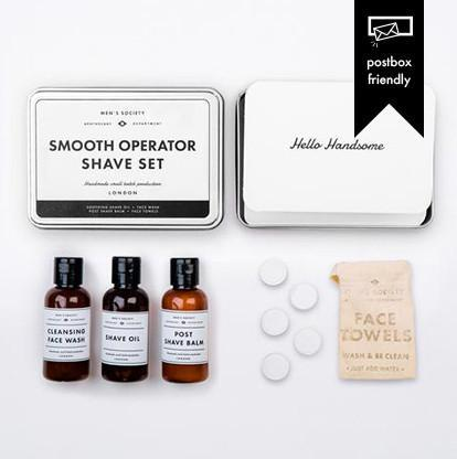 Men's Society Smooth Operator Shaving Kit Review & Giveaway