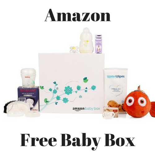 Amazon have launched a FREE baby box!