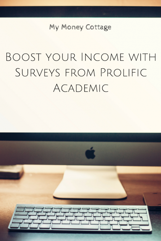 Boost your Income with Surveys from Prolific Academic