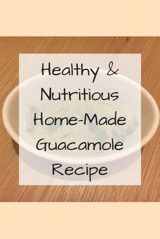 Healthy & Nutritious Home-Made Guacamole Recipe
