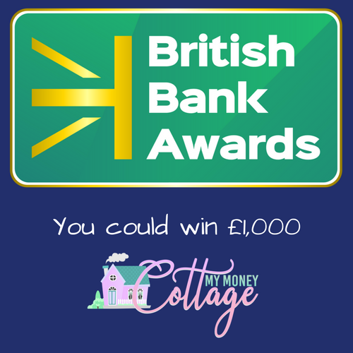 Chance to Win £1,000 – British Bank Awards