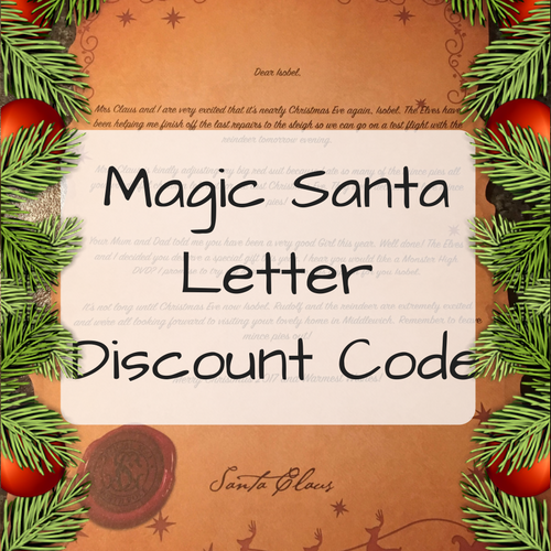 magic santa letter discount code my money cottage