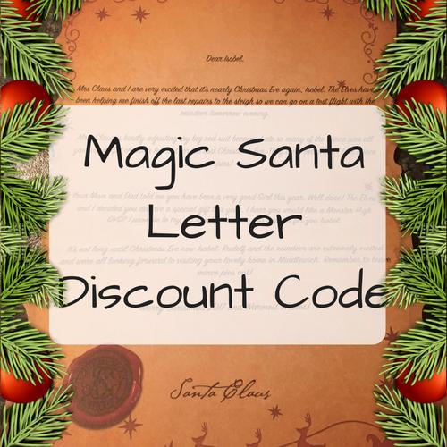 Magic Santa Letter Discount Code