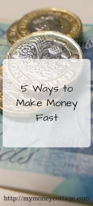 how to make some money fast