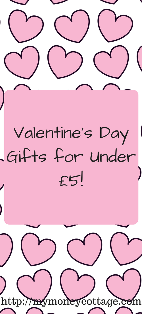 Valentine's Day Gifts for Under £5!