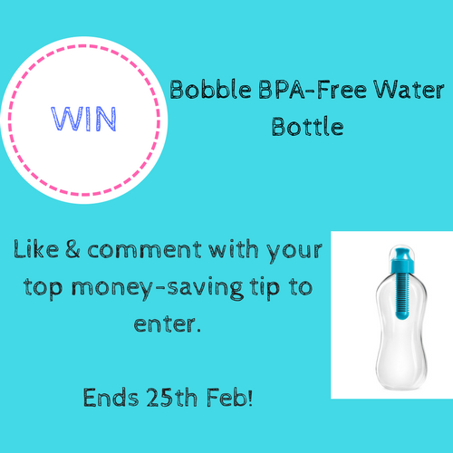 WIN Bobble BPA-Free Water Bottle
