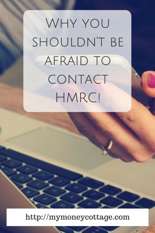 Why you shouldn't be afraid to contact HMRC!