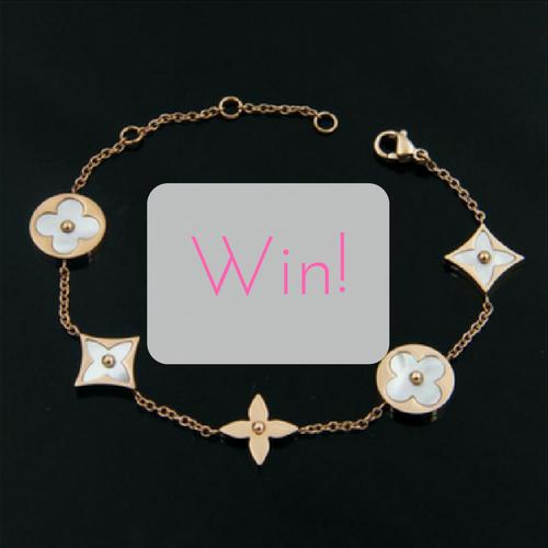 WIN a Luxury Rose Gold Coloured Designer Bracelet