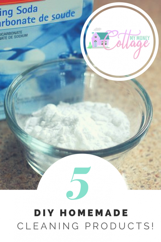 5 DIY Homemade cleaning products