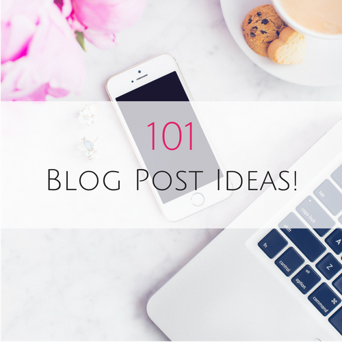 101 blog post ideas