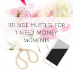 "101 Side Hustles for ""I NEED MONEY"" moments"