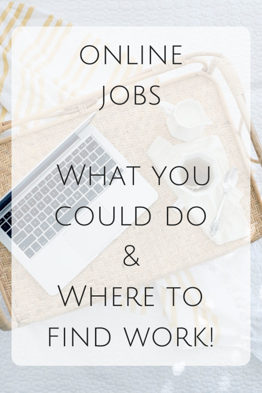 online jobs - where to find work