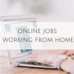 Online Jobs – Working From Home
