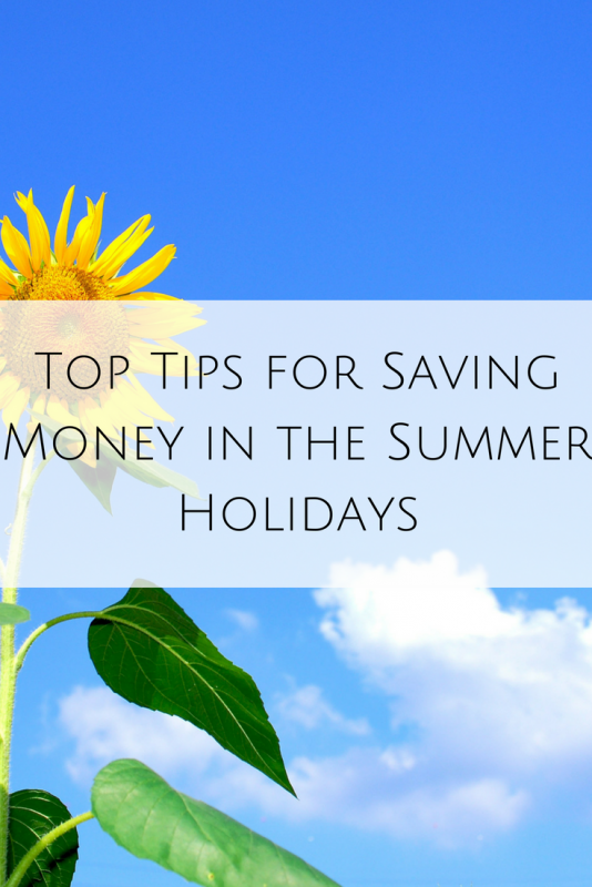 Top Tips for Saving Money in the Summer Holidays