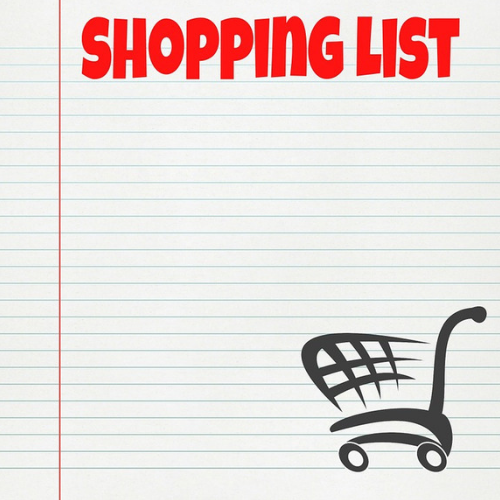 Why you should always use a shopping list