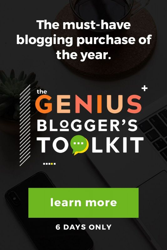 Genius Blogger's Toolkit