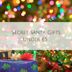Secret Santa Gifts Under £5 – No Need to Break your Budget!