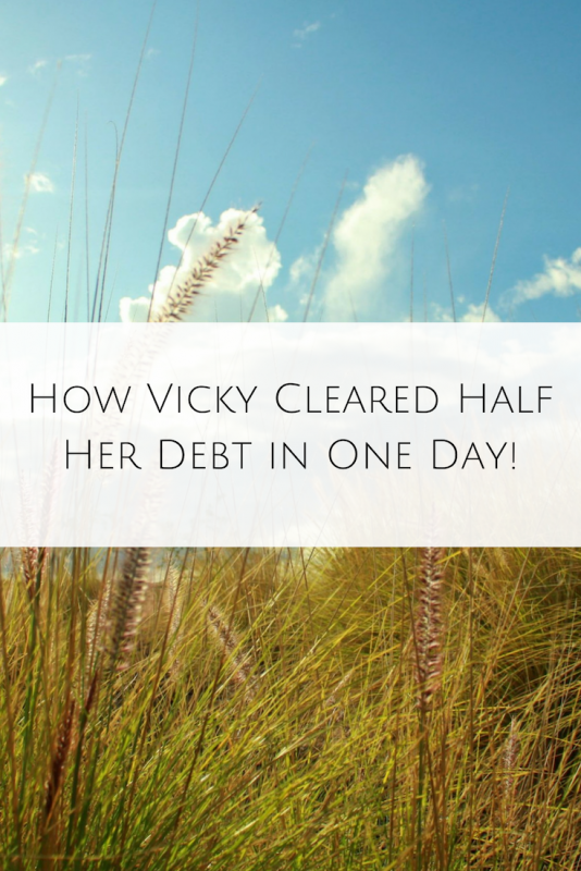 How Vicky Cleared Half Her Debt in One Day! (1)