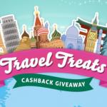TopCashBack Travel Treats Cashback Giveaway 2019