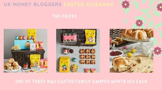 UKMB Easter Giveaway Prizes