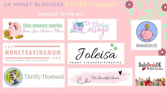 UK Money Bloggers Easter Giveaway - My Money Cottage
